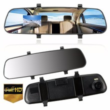 2.7 Inch LCD HD 1080P Car Vehicle DVR Camera Rearview Mirror Digital Video Recorder Cam Dash Camcorder 140 Degree Wide Angle