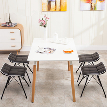 European Style Dining Table Stool Simple Fashion Leisure Creative Modern Conference Meeting Coffee Chair 4pcs/lot(China)