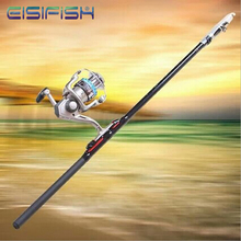 EISIFISH Wholesale Fiberglass Fishing Rods Angeles Fishing Gear Hand Sea Pole FL0682