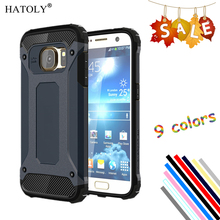 HATOLY For Cover Samsung Galaxy S7 Case G930A Shockproof Silicon Rubber Armor Phone Case For Samsung S7 Cover For Galaxy S7 #