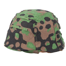 WWII WW2 GERMAN PLANE TREE CAMO M35 REVERSIBLE HELMET COVER - World military Store