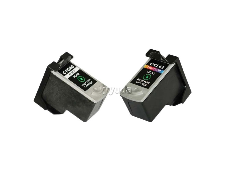 2017 [Hisaint] 3PCS for CANON INK PG-40 PG40 CL-41 CL41  Compatible Ink Cartridges<br><br>Aliexpress