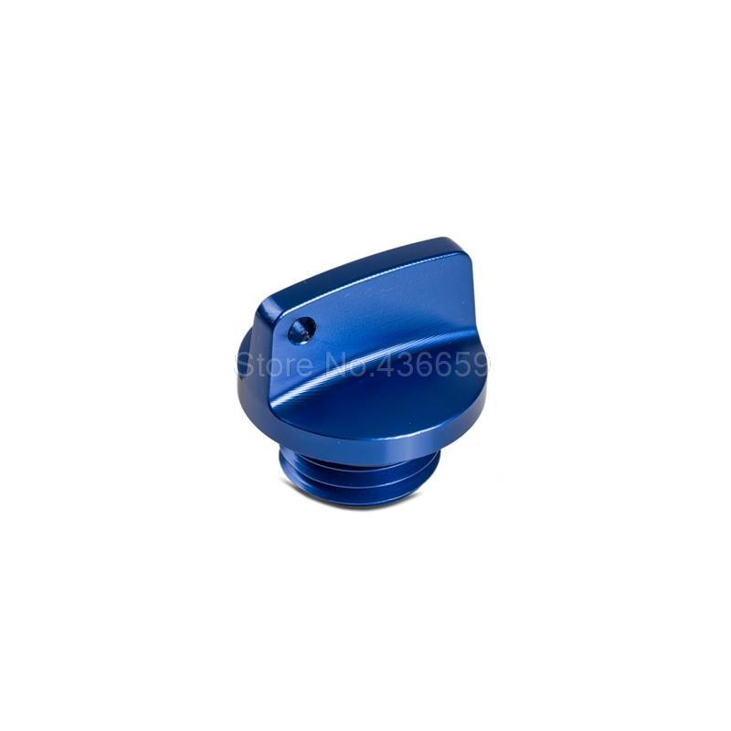 Blue CNC Oil Filler Cap Plug M20x2.5 For Yamaha MT-03 MT-09 FZ-09 T-Max 500 530 Frames Decor<br><br>Aliexpress