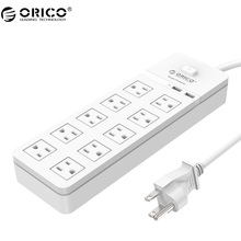 ORICO SPT-S10U2 High Quility Recommend Surge Protection Power Socket with usb power strip IC for Ipad Iphone(China)