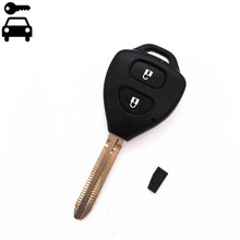 Free Shipping Fob 2 Buttons Car Remote Key 315MHz With G Chip for Toyota Hilux Fortuner 4Runner Corolla