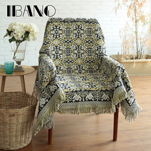 New Design Sofa Blanket Cover 230x250CM Cotton Thread Blanket With Tassel Vintage Home Decorative For Beed Sheet Floor Mat