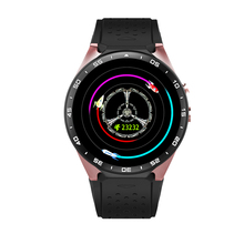 Smartch 2017 smart watch kw88 original factory Android 5.1smartwatch MTK6580 wristwatch 4G ROM GPS WIFI Bluetooth 3G watchphone(China)