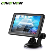 Car SAT GPS Navigation NAV 8GB ROM Free US EU Russia Canada Map Automotive Car Charger 5 Inch Touch Screen(China)