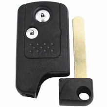 Key Shell for HONDA Civic Accord CR-V Odyssey 2 Button key Case Fob Refit Smart Design(China)
