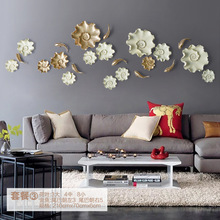 10pcs/lot 3D Resin Fish and Lotus Leaf for Wall Poster HOME Decoration TV Back ground Wall Decoration Resin Artware Stickers