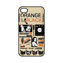 Orange Is the New Black Fan Case for iPhone 4 4S 5 5S 5C 6 6S Plus Samsung S3 S4 S5 Mini S6 S7 edge A3 A5 A7 2015