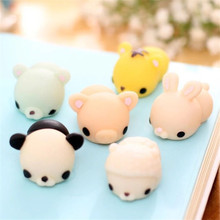 Kawaii Emotion Animals Vent Ball Toys Relax Novelty Toys Stress Relieving Anti-stress ball toys Soft Squeeze Bread Kids Toy
