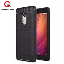GerTong Case For Xiaomi Redmi 4X Note 4 Pro 4A Global Version Soft Carbon Fiber Full Cover Protection Silicone TPU Phone Cases(China)