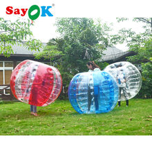 free shipping cheap giant 1.8m(6ft) red air inflatable bubble football bubble soccer bumper 0.7mm tpu ball water gum for sale