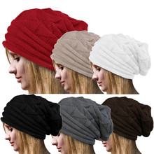 Fashion Accessories Bonnet Femme Women Twist Pattern Hat Winter Hat Female Beanie Crochet Knit Warm Hats For Women Cap Wholesale