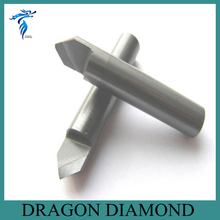 Free Shipping 60 Degree 6MM Marble Granite CNC Diamond Engraving Bit Router Bit