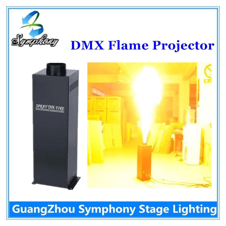 1Pcs  4 angle DMX 512 Fire Machine China Manufacturer 200W stage Fire Machine DMX 2 channels Spray Fire machine<br><br>Aliexpress