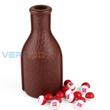 High Quality Deluxe KELLY POOL Billiard Table Pea Shaker Bottle and 16PCs Tally Peas Set(China)