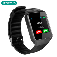 itormis Bluetooth Smart Watch Clock Smartwatch Camera SIM TF card Mobile Phone Pedometer DZ09 for Samsung iOS Xiaomi PK A1 GT08(China)