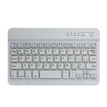 NOT russian laptop keyboard 100% Brand New Ultra Slim Aluminum Wireless Bluetooth Keyboard For IOS Android Windows for pc