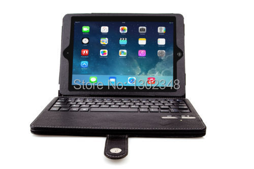 Russian Wireless Detachable bluetooth keyboard PU leather case cover with Stand for apple ipad air ipad5 ipad 5 9.7 Tablet PC<br><br>Aliexpress