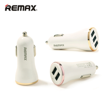 Remax Car Cigar Lighter Charger 2 USB / 3 USB Optional 2.4A-3.4A Max General Auto Mobile Phone Tablet Adaptor Fast Charging(China)