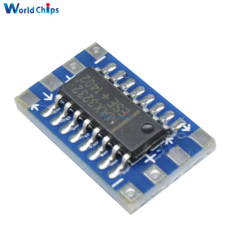 Converter Module Mini RS232 To Ttl Board Adapter MAX3232CSE 120Kbps 3-5V zl