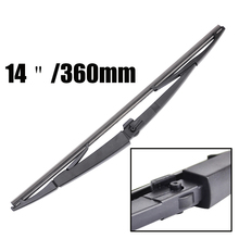 "MISIMA 14"" Rear Window Windshield Wiper Blade FOR 2005-2010 Jeep Grand Cherokee WK Dodge Durango Commander Chrysler Aspen 2009"