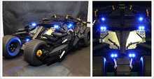 LED light up kit  for lego 76023 and Decool 7111  Batman The Tumbler Blocks( Bricks  Set not inlcuded)