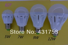 5730 LED Bulb E27 B22 110V or 220V indoor Lighting for home 5W 7W 9W 12W Led lights lamp aras LED Bombillas new products CE ROHS