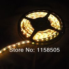 HOT 20m/lot 3528 5m 300 led SMD Led Strip 60 Led per meter White/Warm white/Blue/Green/Red/Yellow Not waterproof (free shipping)(China)