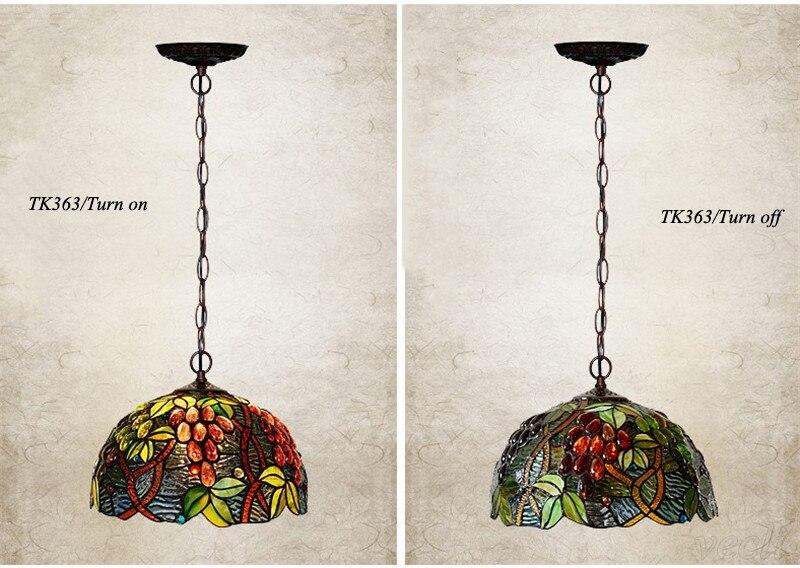 Tiffany hanging lamp light (12)