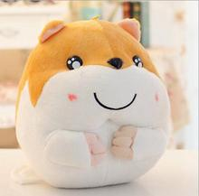 Free Shipping 1pcs 15cm Super Mini Kawaii Hamster Mouse Stuffed Animal Toy Soft Doll Birthday Gifts for Kids(China)