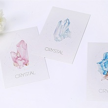 30pcs crystal style postcard as invitation Greeting Cards gift cards Christmas postcard & invitation