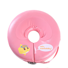 Neck Ring No need pump air More Safety non inflatable Swim Ring Free inflatable Baby Neck Swimming Ring 3-36months Bath Toy gift
