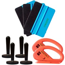 3M felt Squeegee magnet cutter Set Pro Tool Vehicle Windshield Film kit Combo Car Wrap Vinyl Tool Window Film Tinting Tools K13(China)