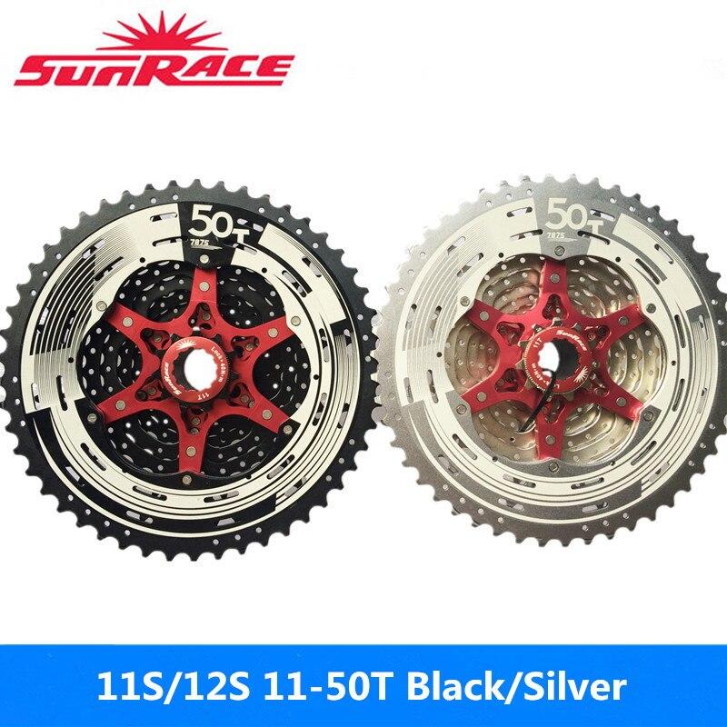 Sunrace 11 Speed oversized Cassette 11-50T Black