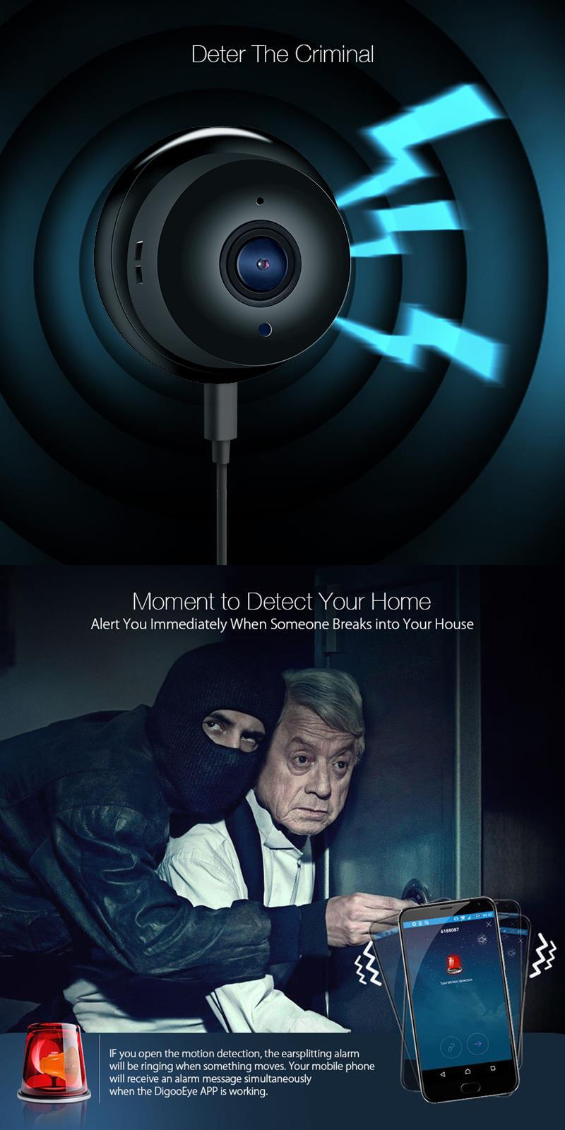 Wistino 960P Wireless IP Camera VR Mini WIFI Camera IR Night Vision Smart Home Security Camera Onvif Monitor Baby Monitor 2 (3)
