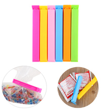 20PCS New Random Color!!! Portable Kitchen Storage Food Snack Seal Sealing Bag Clips Sealer Clamp Plastic Tool(China)