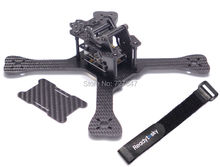 Newest DIY Mini 3K pure carbon Mini 210mm 210 Cross Racing Quadcopter w/ 4mm Main Lower Plate for GEPRC GEP-TX QAV-X