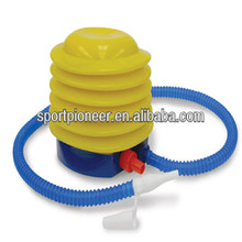"4"" Inflatable PE Toy Balloon Ball Foot Air Pump Plastic Bellows Foot Pump"