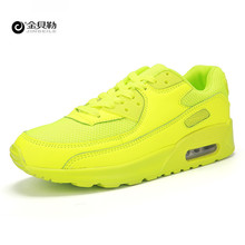JINBEILE Men Breathable Sport Shoes Size 35-44 Brand Newest Spring Autumn Running Shoes For Outdoor Comfortable Women Sneakers