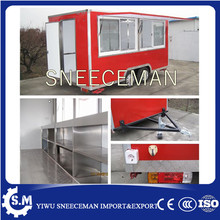 Kitchen Cooking Mobile Food Cart Trailer Food Vending Cart Out Door Food Trailer(China)