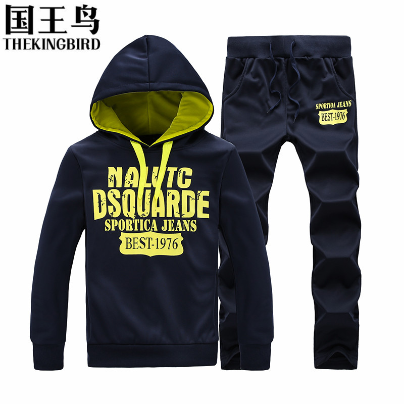 Sport Suit Men New Autumn And Winter basketball jersey Hooded running sports track suit jogging suits running clothes for Men(China (Mainland))