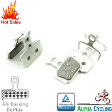MTB Bicycle Disc Brake Pads For Formula R1R, R1, RO, RX, T1, Mega Disc Brake, 2 Pairs, Alu-Alloy Backing Ex Plus