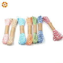 10M/Lot Width 2MM DIY Hand-woven Paper Spell Color Thin Ropes For Gift Packing Scrapbooking Wedding Birthday Party Decoration(China)