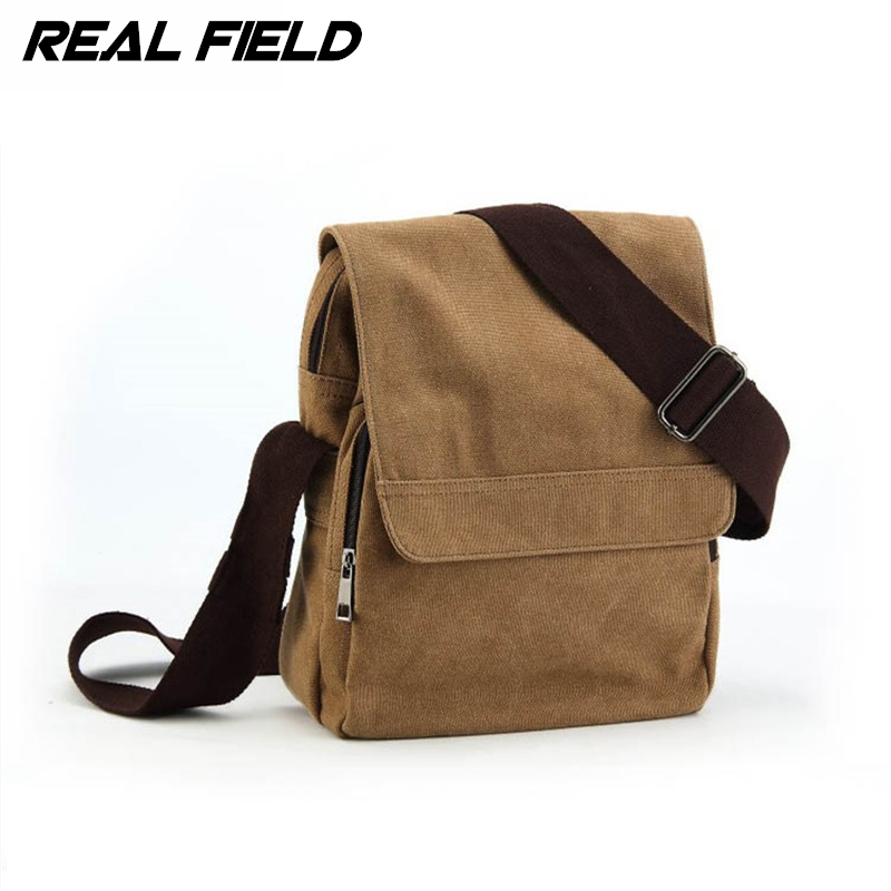Real Field Canvas Men Shoulder Bags Vertical Messenger Bag Student School Bags the trend of Casual Male Crossbody Handbags 94<br><br>Aliexpress