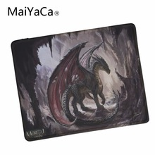 MaiYaCa Black Dragon Hd Wallpapers Rubber Soft gaming mouse Cool Games black mouse pad Lock Edge Mouse Pad
