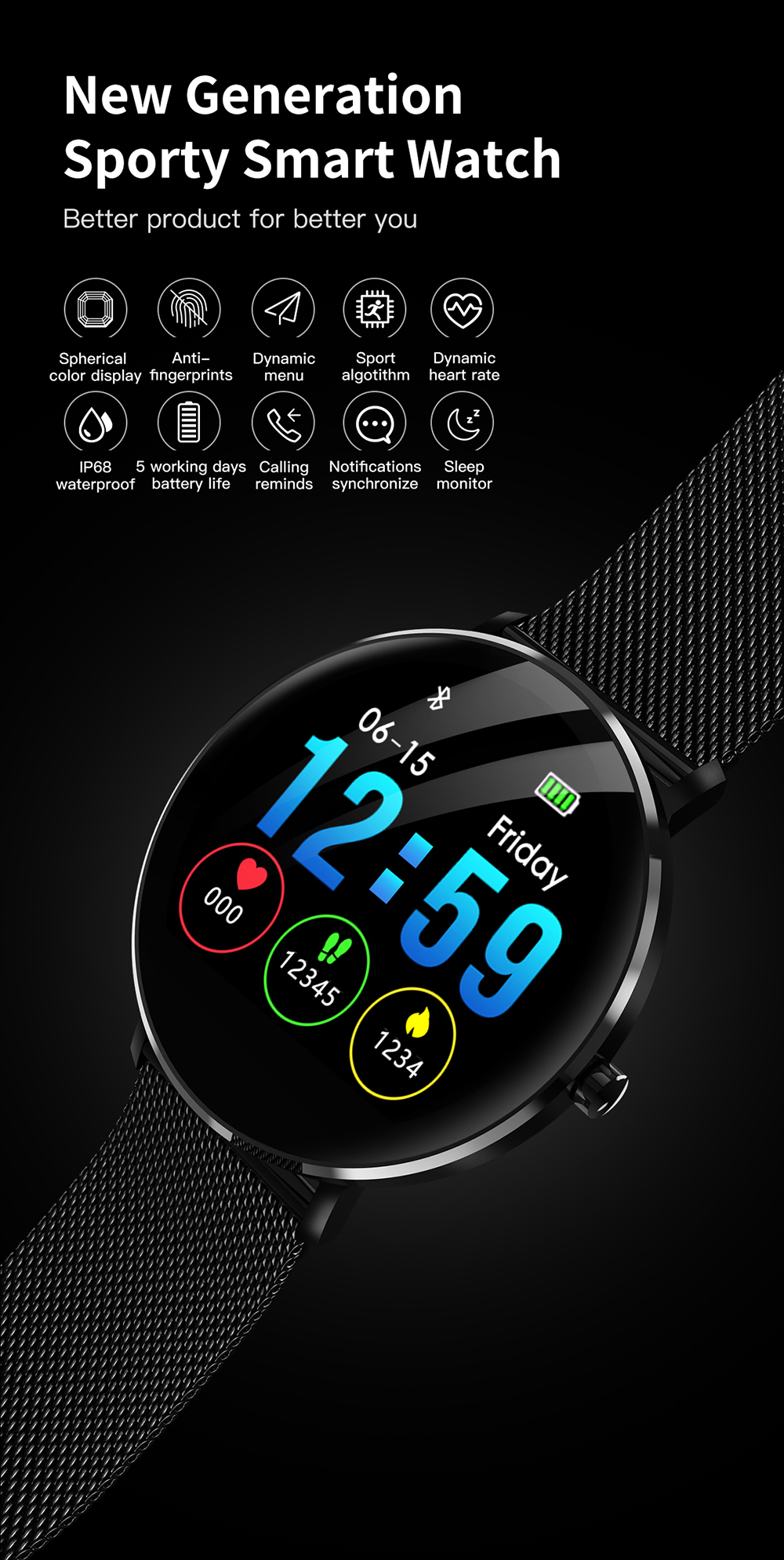 Smart Watch for Swimming 1