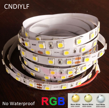 Factory Outlet LED Light Strip 5050 24V 12V 3000K 4000K 6000K Available Fast Shipping 300LED/5m 20-22lm/LED Air Mail Shipping(China)